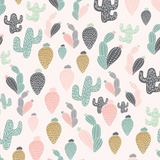 Quirky Cactus Wallpaper