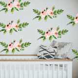 Flower Wall Stickers by Rocky Mountain Decals