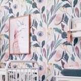 Moody Floral Wallpaper (Self-Adhesive)