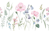 Garden Flowers Wall Mural (Peel & Stick)