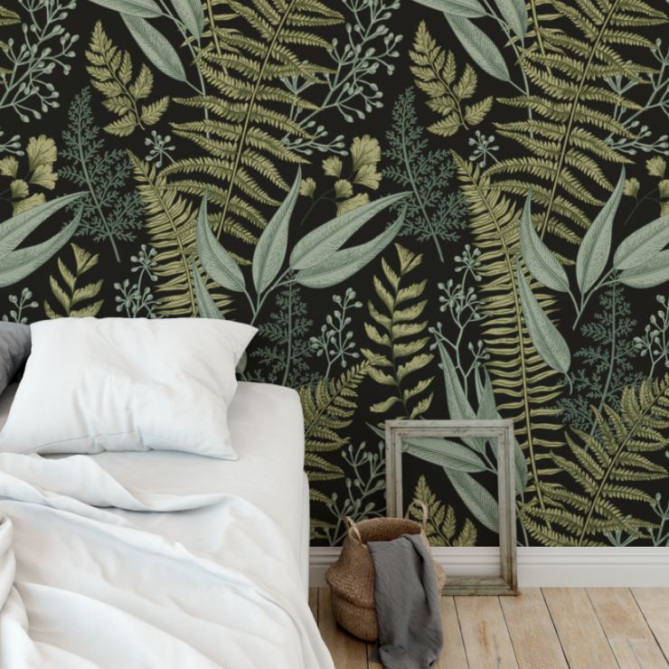 Botanical Bliss Wallpaper (Peel & Stick)