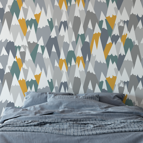 Peaks Wallpaper (Self-Adhesive)