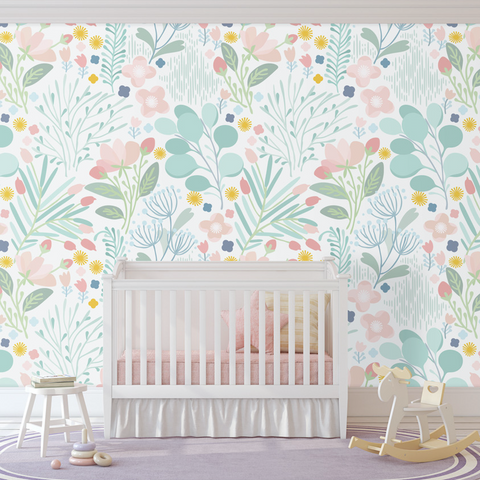 Spring Wallpaper (Self-Adhesive)