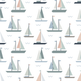 Sweet Sailor Wallpaper (Peel & Stick)