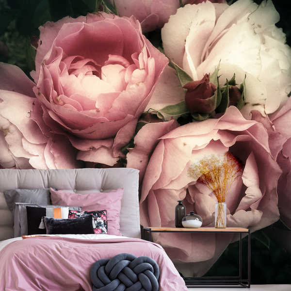Not a Wall Flower Mural (Self-Adhesive)