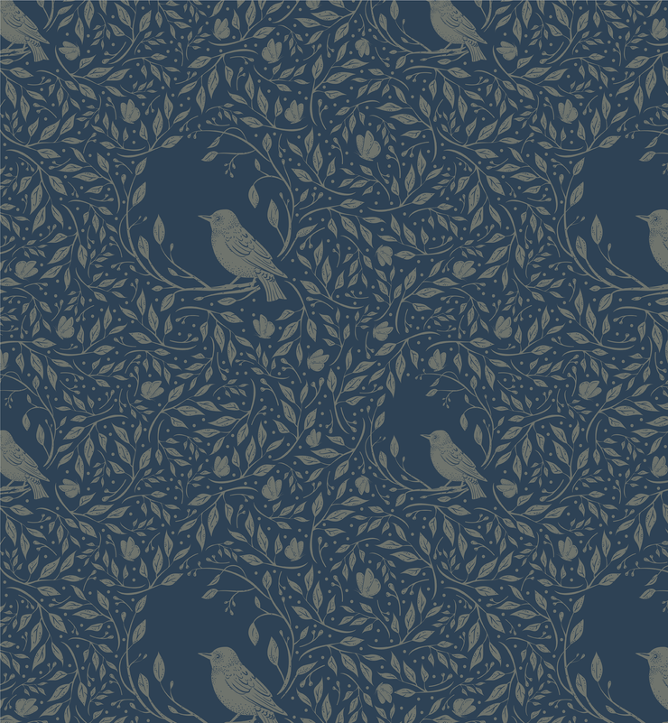 Willow and Wings Wallpaper (Peel & Stick)