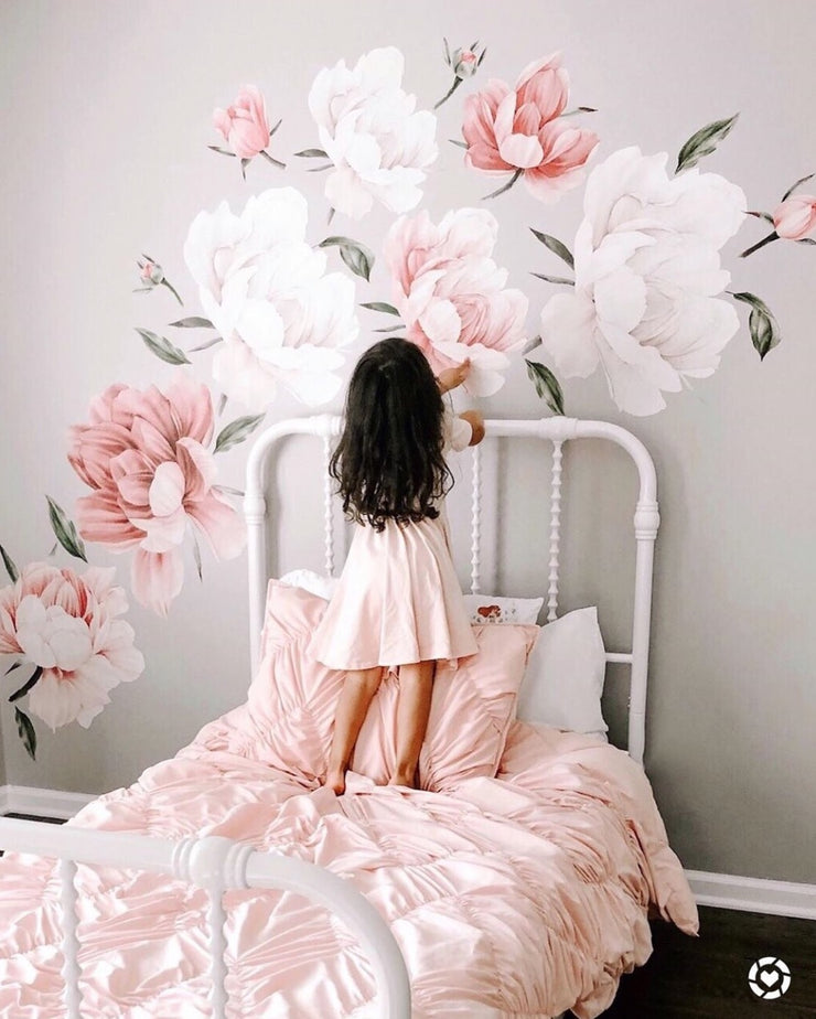 Bloom Where You Are Planted Wall Stickers