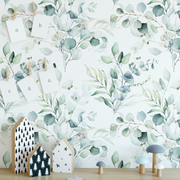 eucalyptus dream wallpaper, removable wallpaper, rocky mountain decals