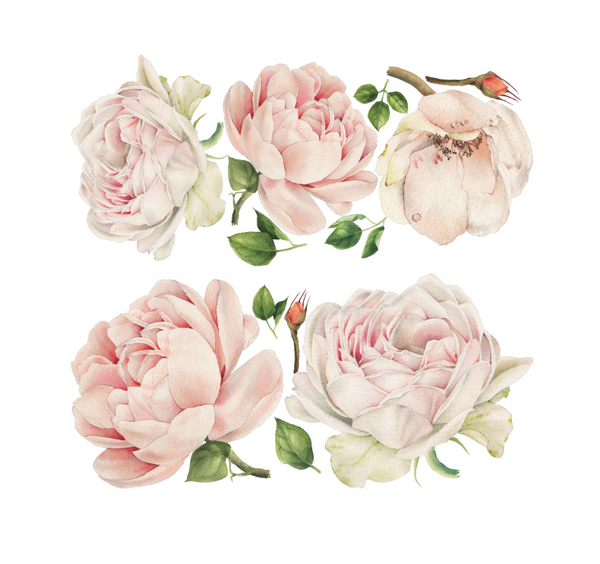 Half Autumn Rose Wall Stickers