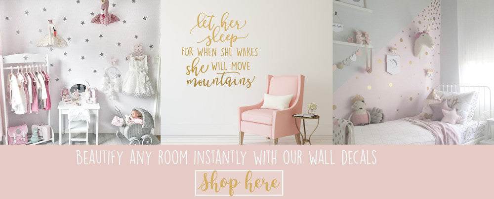 slide_4_alt. ...  sc 1 th 143 & Nursery Wall Decals and Removable Wallpaper - peel and stick to wall ...