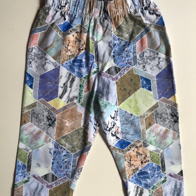 Leggings estampado Marmol