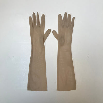 Guantes Mesh Nude