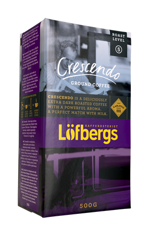 CRESCENDO Roast Level 5/5, 500g, Ground