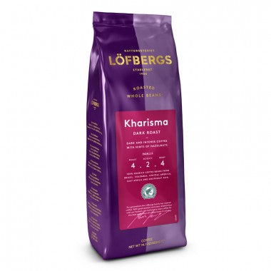 KHARISMA Roast Level 4/5, 400g, Whole Bean
