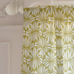 Curtains available at Minted designed by Sarah & Ruby and inspired by handmade polynesian barkcloth.