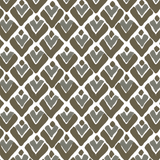 Aim High in Stone (gray) | Hand block-printed wallcovering by Sarah & Ruby | www.sarahrubydesign.com