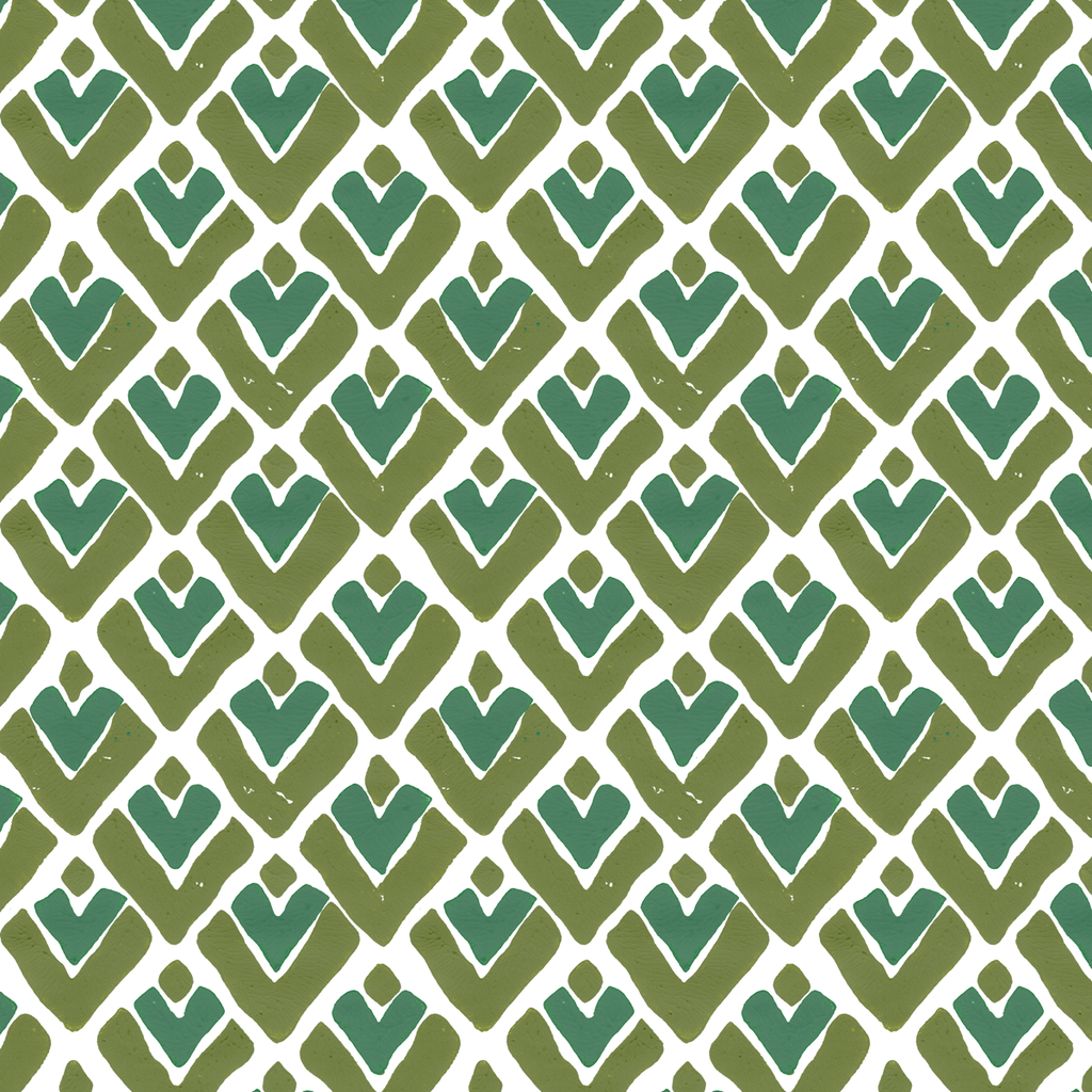Aim High in Moss (green) | Hand-printed wallpaper by Sarah & Ruby | www.sarahrubydesign.com