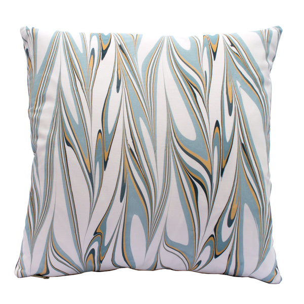 MARBLED PILLOW - ICE