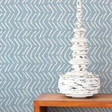Off the Beaten Path | Hand-block print wallpaper by Sarah & Ruby | www.sarahrubydesign.com