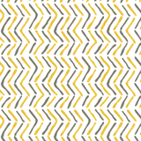 Off the Beaten Path in Saffron (yellow) | Hand-block print wallpaper by Sarah & Ruby | www.sarahrubydesign.com