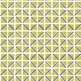 On Track in Citron (lime green) | Hand-block printed wallpaper by Sarah & Ruby | www.sarahrubydesign.com