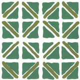 On Track in Jade | Hand-painted wallpaper by Sarah & Ruby | www.sarahrubydesign.com