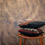 Hand-Painted Single Sheet Wallpaper | Lanai in Tobacco (brown), 22