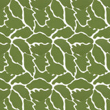 We Just Fit in Moss (green) | Hand-block printed wallpaper by Sarah & Ruby | www.sarahrubydesign.com