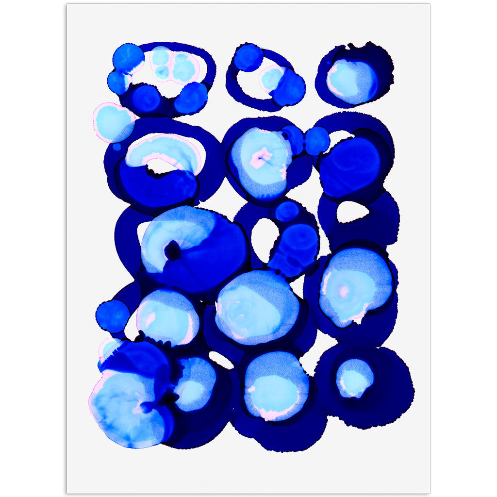 """Indigo No. 1"" Original Art"