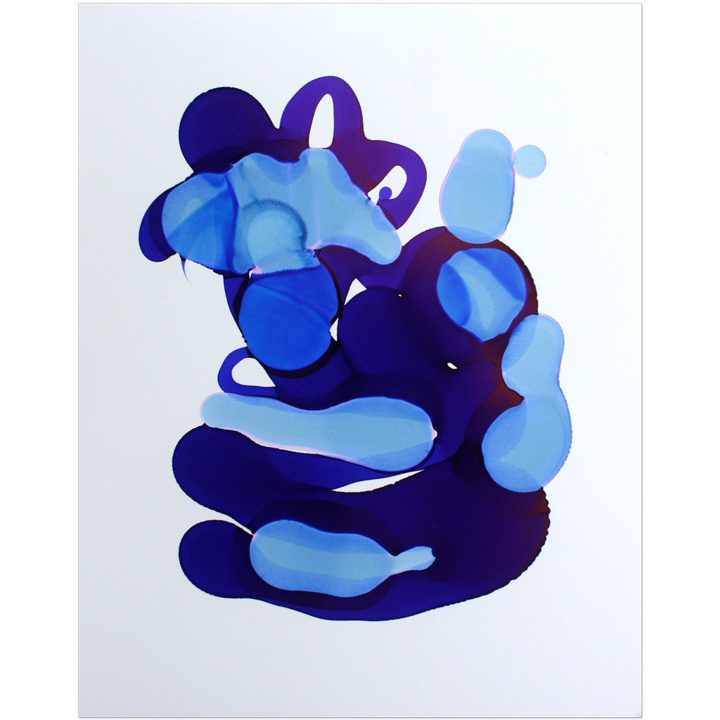 """Indigo No. 2"" Original Art"