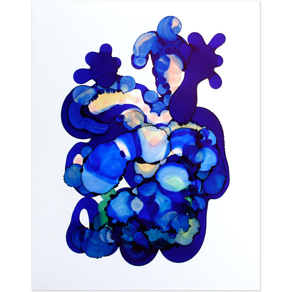 """Indigo No. 3"" Original Art"