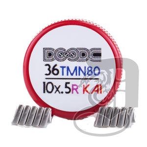 Pro-Made Coils by Squidoode - Staple Coil 36/10Ply, coils, Squidoode, Dragon Vape Shop