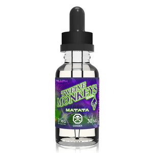 12 Monkeys - Matata, Ejuice, 12 Monkeys, Dragon Vape Shop