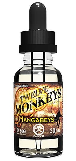 12 Monkeys - Mangabeys, Ejuice, 12 Monkeys,Dragon Vape Shop