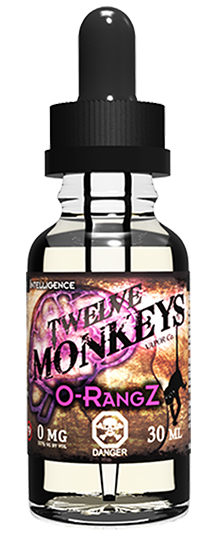12 Monkeys - O-Rangz, Ejuice, 12 Monkeys,Dragon Vape Shop