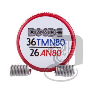 Pro-Made Coils by Squidoode - Fused Clapton Coils 36G/26G, coils, Squidoode,Dragon Vape Shop