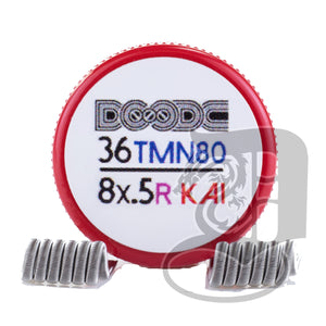 Pro-Made Coils by Squidoode - Staple Coil 36/8Ply, coils, Squidoode, Dragon Vape Shop