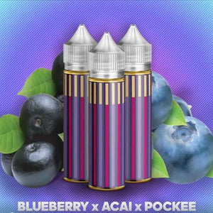 Drip Social - Blueberry Acai Pockee, Ejuice, Drip Social,Dragon Vape Shop
