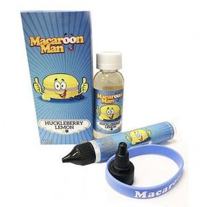 Macaroon Man - Huckleberry Lemon, Ejuice, Macaron Man, Dragon Vape Shop