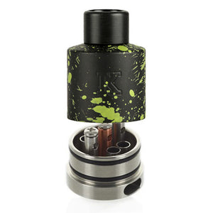 Kennedy 22 Gremlin Green Splatter RDA, RDA, Kennedy,Dragon Vape Shop