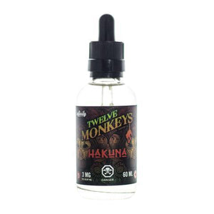 12 Monkeys - Hakuna, Ejuice, 12 Monkeys, Dragon Vape Shop