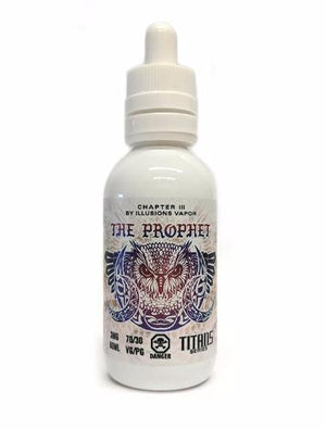 Illusions chapter III - The Prophet, Ejuice, Illusions, Dragon Vape Shop