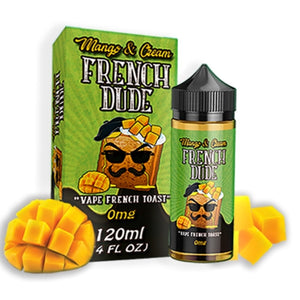 Vape Breakfast Classics - French Dude Mango & Cream, Ejuice, Vape Breakfast Classics,Dragon Vape Shop