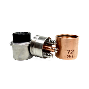 American Made Vaping Rough Neck V2, RDA, Vaping American Made,Dragon Vape Shop