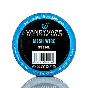Vandy Vape Mesh Wire, Building Gear, Vandy Vape,Dragon Vape Shop