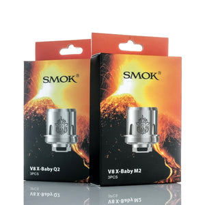 "SMOK TFV8 ""X-Baby"" Replacement Coils, coils, SMOK, Dragon Vape Shop"