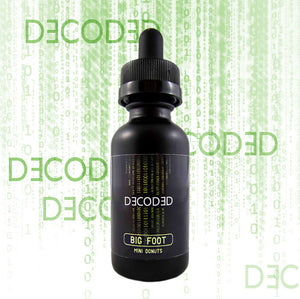 Decoded - Big Foot, Ejuice, Premium Labs, Dragon Vape Shop