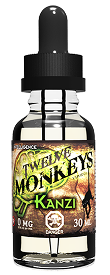 12 Monkeys - Kanzi, Ejuice, 12 Monkeys, Dragon Vape Shop