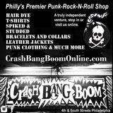 Crash Bang Boom Maximum Rock N Roll ad