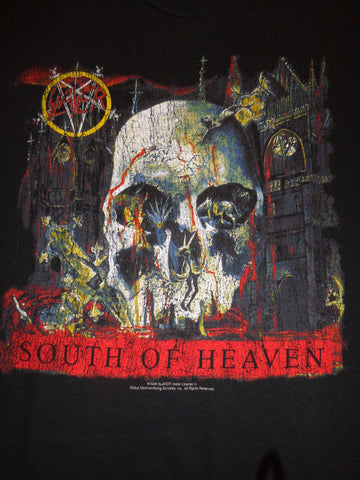 Slayer South of Heaven black tee